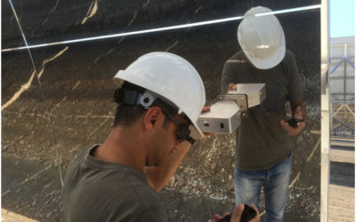 Blog #11 – Mobile device for soiling and cleanliness measurements at solar thermal power plants, developed at Fraunhofer ISE