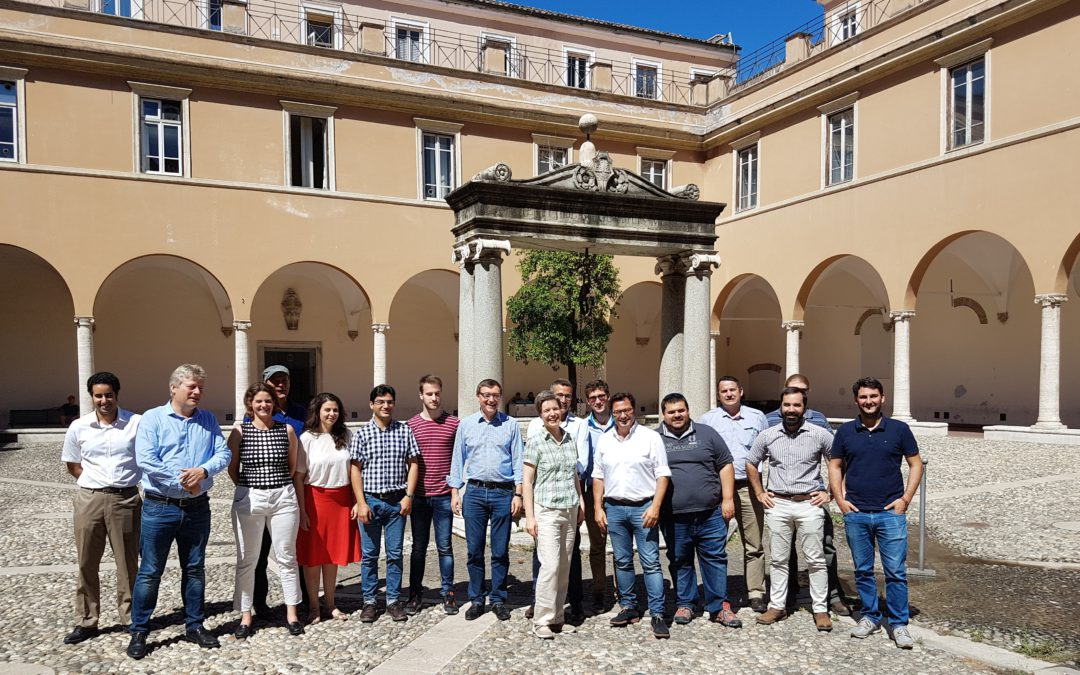 Blog #16 – MinWaterCSP Consortium meets as University of Sapienza in Rome