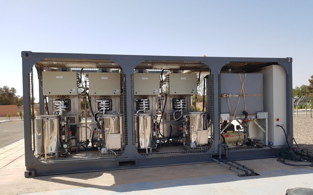 Blog #19 – Studying the Fouling effect on the test demo at Green Energy Park, Benguerir, Morocco under MinWaterCSP project