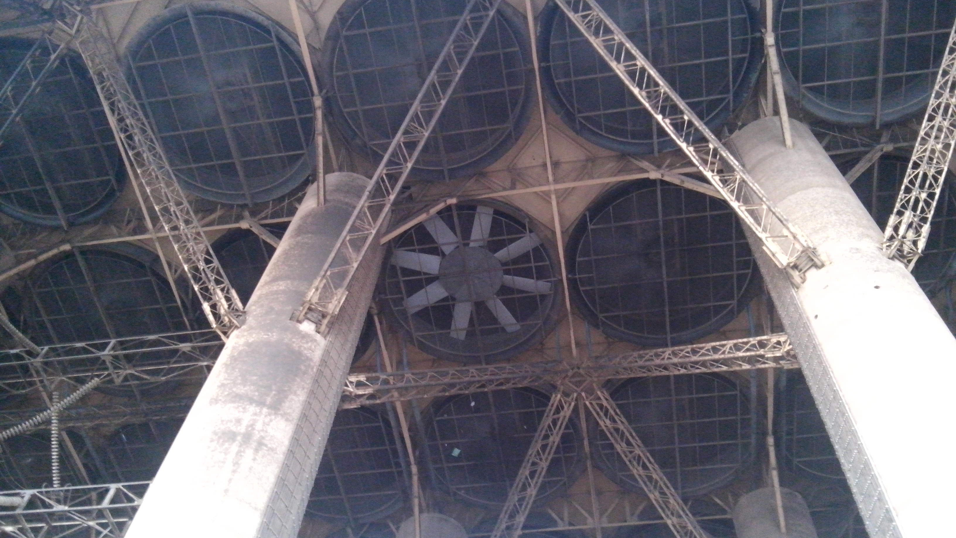 Picture 1: Fan installation at Matimba (photo: Notus Fan Engineering)