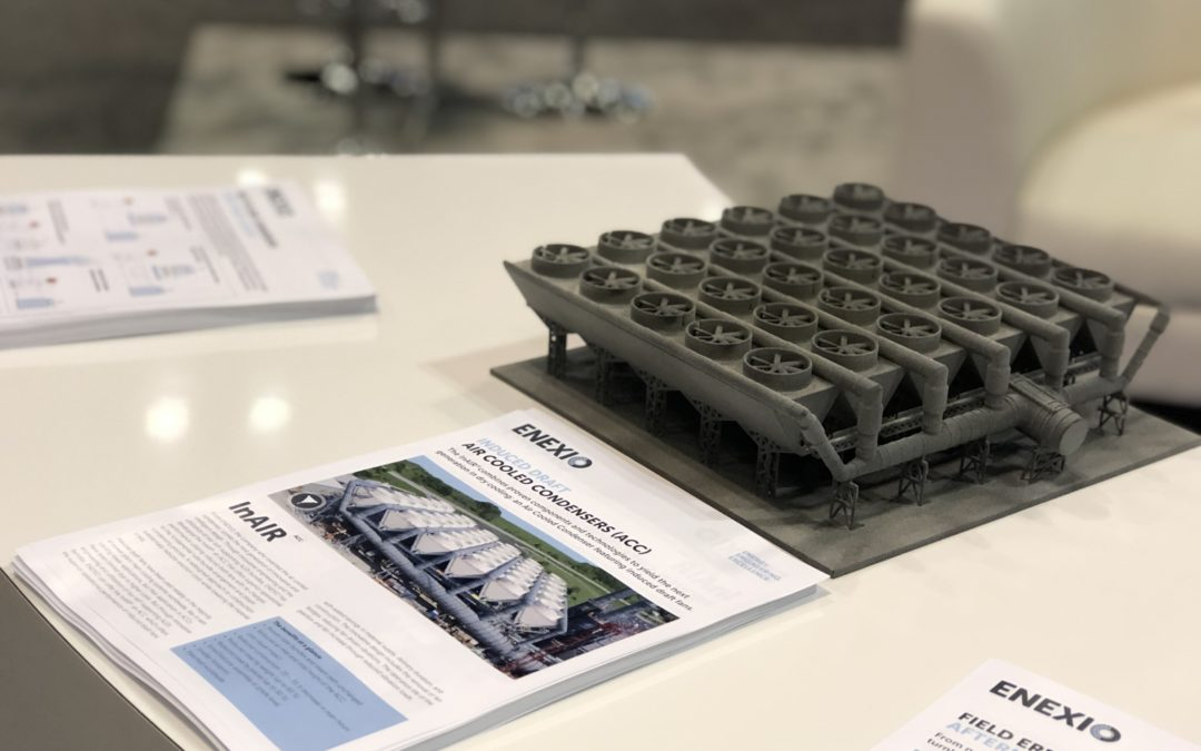 Blog #33– ENEXIO presents innovative MinWaterCSP hybrid cooling technology at the Power-Gen International 2018 and launches new cooling system App